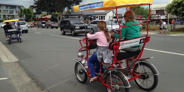 Quad Cycle around town stay Whitianga Accommodation
